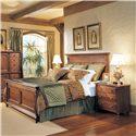 Durham Saville Row Queen Panel Bed - 980-134