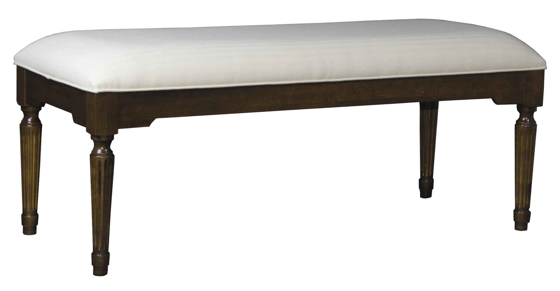 Traditional Bed Bench