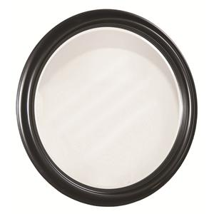 Solid Choices Round Wall Mirror for Casual Home Accent by Durham
