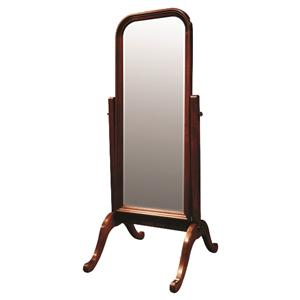 Solid Choices Cheval Floor Mirror for Bedrooms, Living Rooms Accent or Powder Rooms by Durham