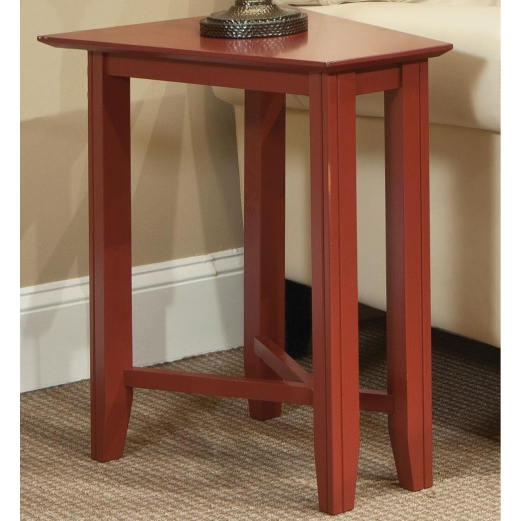 Eclectic Wedge Table
