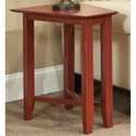 Durham Solid Choices Eclectic Wedge Table - Item Number: 900-565G