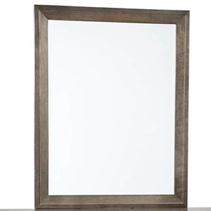 Vertical Solid Wood Frame Mirror