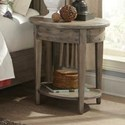 Durham The Distillery Round Lamp Table - Item Number: 401-538