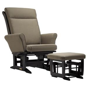 Dutalier 8321 Casual and Comfortable Glider Recliner and Ottoman Set