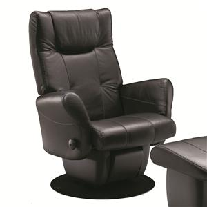 Dutalier Dallas Contemporary Swiveling Glider Recliner for Living Room Comfort