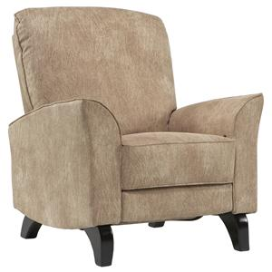 Dutalier Intermezzo Gliding Multiposition Hi-Leg Recliner in Contemporary Furniture Style