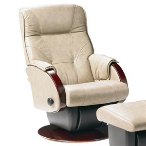 Dutalier Monaco  Contemporary Styled Multiposition Gliding Recliner with Swivel