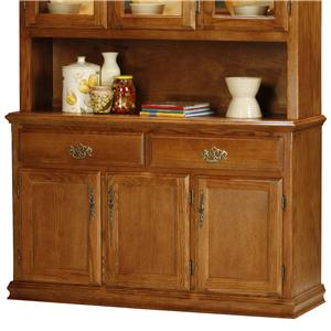 Eagle Industries Classic Oak 54 Inch Dining Buffet