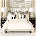 Eastern Accents Abernathy King Button-Tufted Comforter - Item Number: DVK-333B