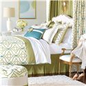 Eastern Accents Bradshaw Queen Button-Tufted Comforter - Item Number: DVQ-320B
