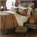 Eastern Accents Glenwood Cal King Button-Tufted Comforter - Item Number: DVC-130B