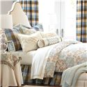 Eastern Accents Kinsey Twin Hand-Tacked Comforter - Item Number: DVT-300T