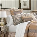 Eastern Accents Lancaster Grand Queen Sham - Item Number: BPQ-231