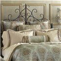 Eastern Accents Marbella Grand Queen Sham - Item Number: BPQ-148