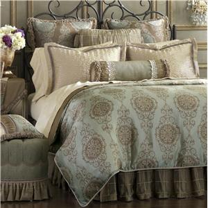 Eastern Accents Marbella Cal King Bed Skirt