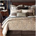 Eastern Accents Powell Queen Button-Tufted Comforter - Item Number: DVQ-295B