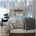 Eastern Accents Vera Twin Hand-Tacked Comforter - Item Number: DVT-165T
