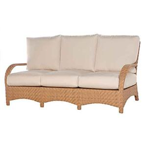 Avignon Sofa with 6 inch Cushions by Ebel