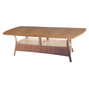 Avignon Rectangular Table with Woven Top by Ebel