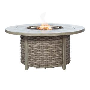 Fire Pit Fire Pit with Woven Base by Ebel