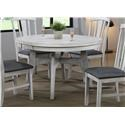 E.C.I. Furniture Summer Winds Round Dining Table - Item Number: 0425-80-RT+RB