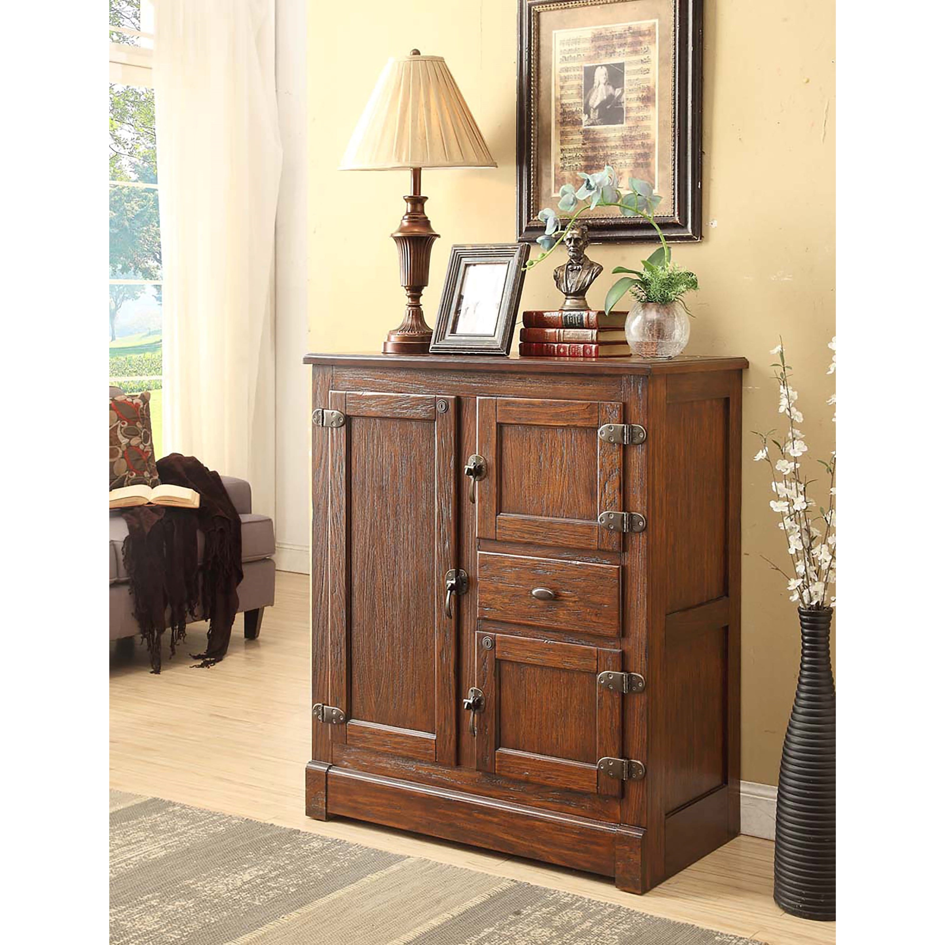 E.C.I. Furniture Spirit - 0506 Spirit Cabinet - Item Number: 0506-36-SC