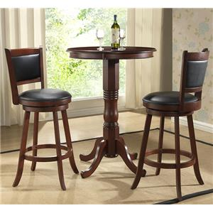E.C.I. Furniture Dining  3-Piece Pub Dining Set