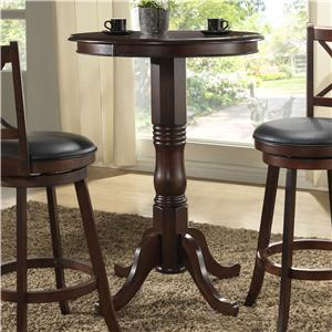E.C.I. Furniture Burnished Collection Counter Height Pub Table