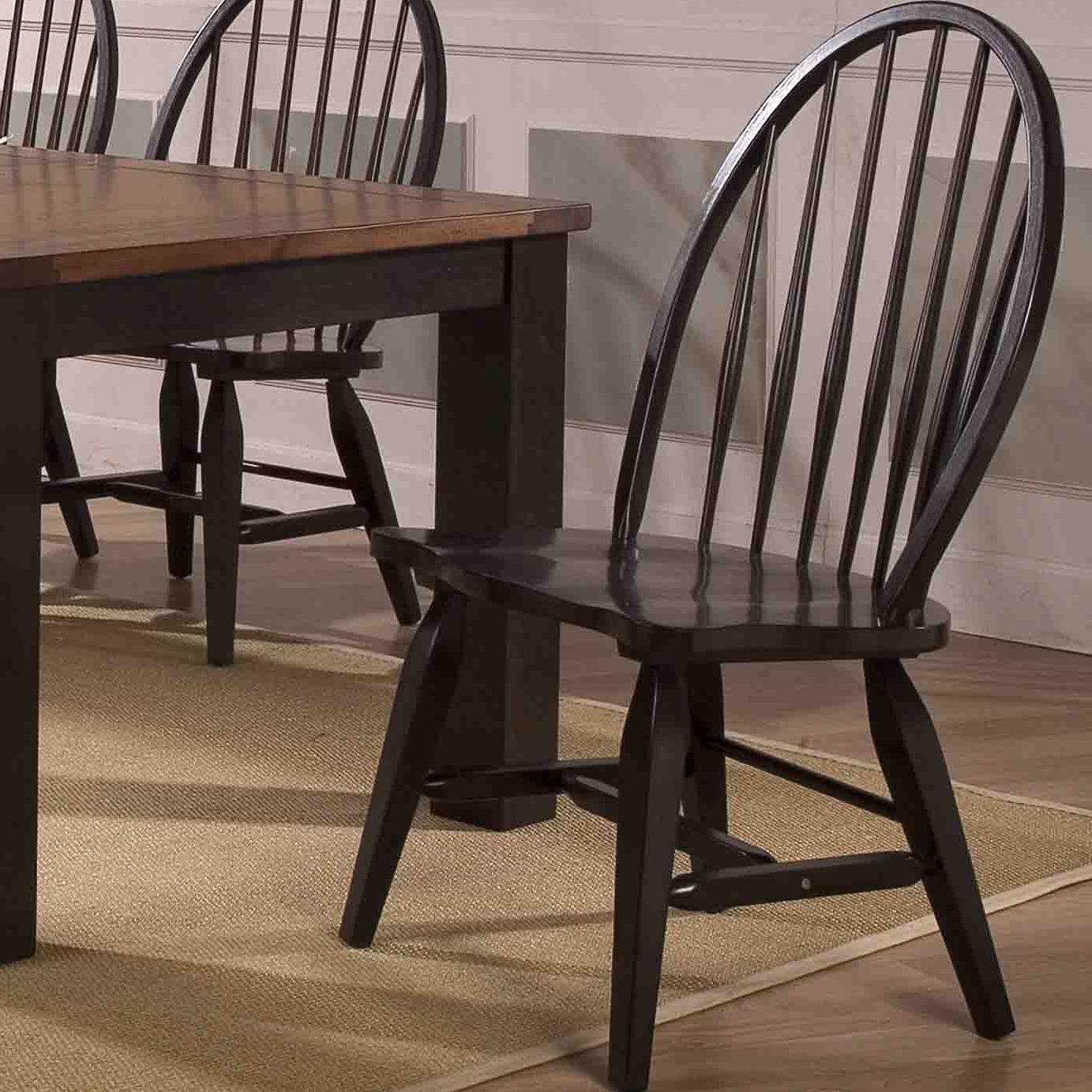 E.C.I. Furniture Acacia Side Chair (KD - 2 Per Carton) - Item Number: 3073-00-S