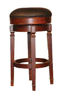 E.C.I. Furniture Bar Stools Nova Backless Bar Stool - Item Number: 1320-35-BLBS-30