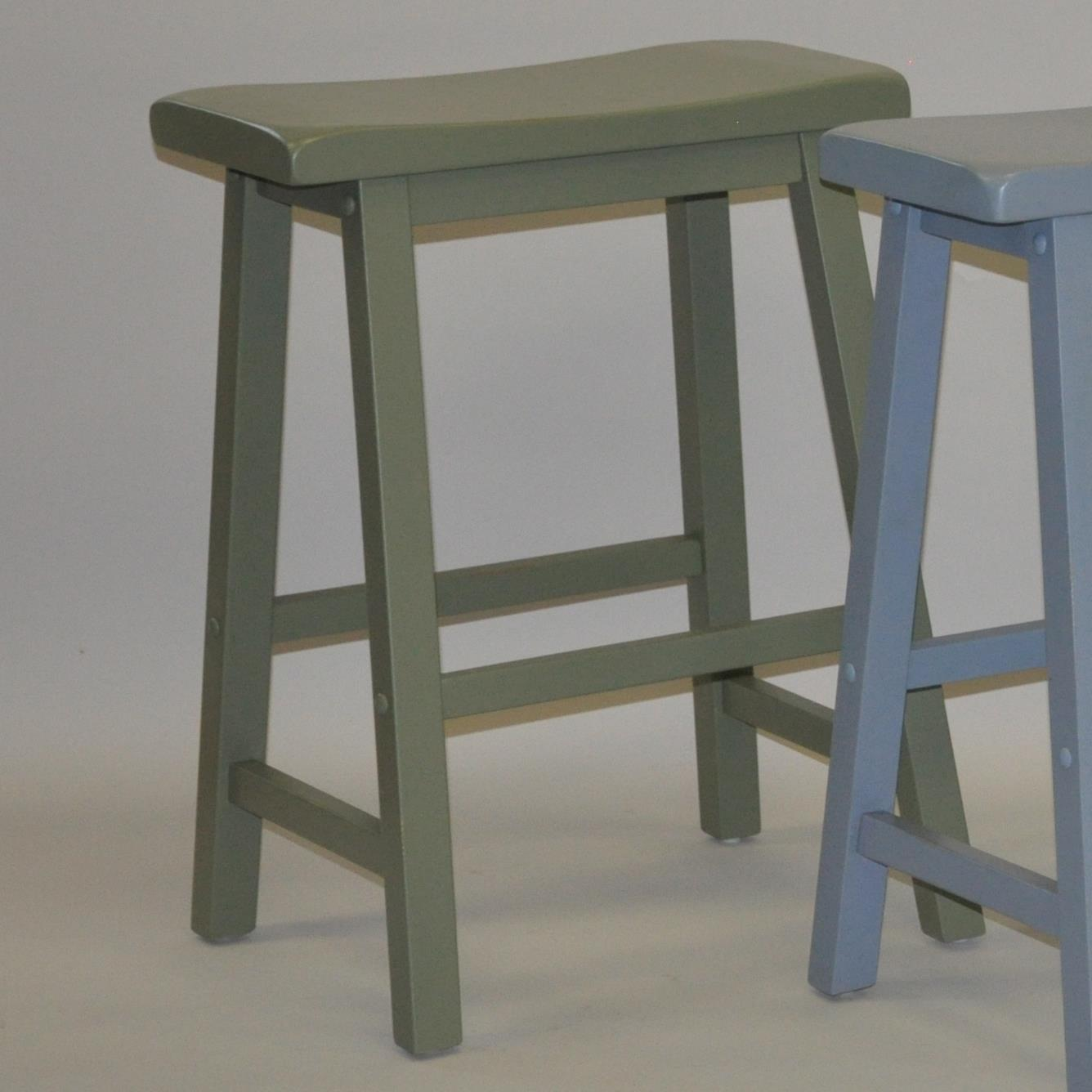 E C I Furniture Bar Stools 24 Quot Saddle Stool Wayside