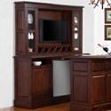 E.C.I. Furniture Belvedere-0411 Back Bar Base + Hutch - Item Number: 0411-35-BB+H