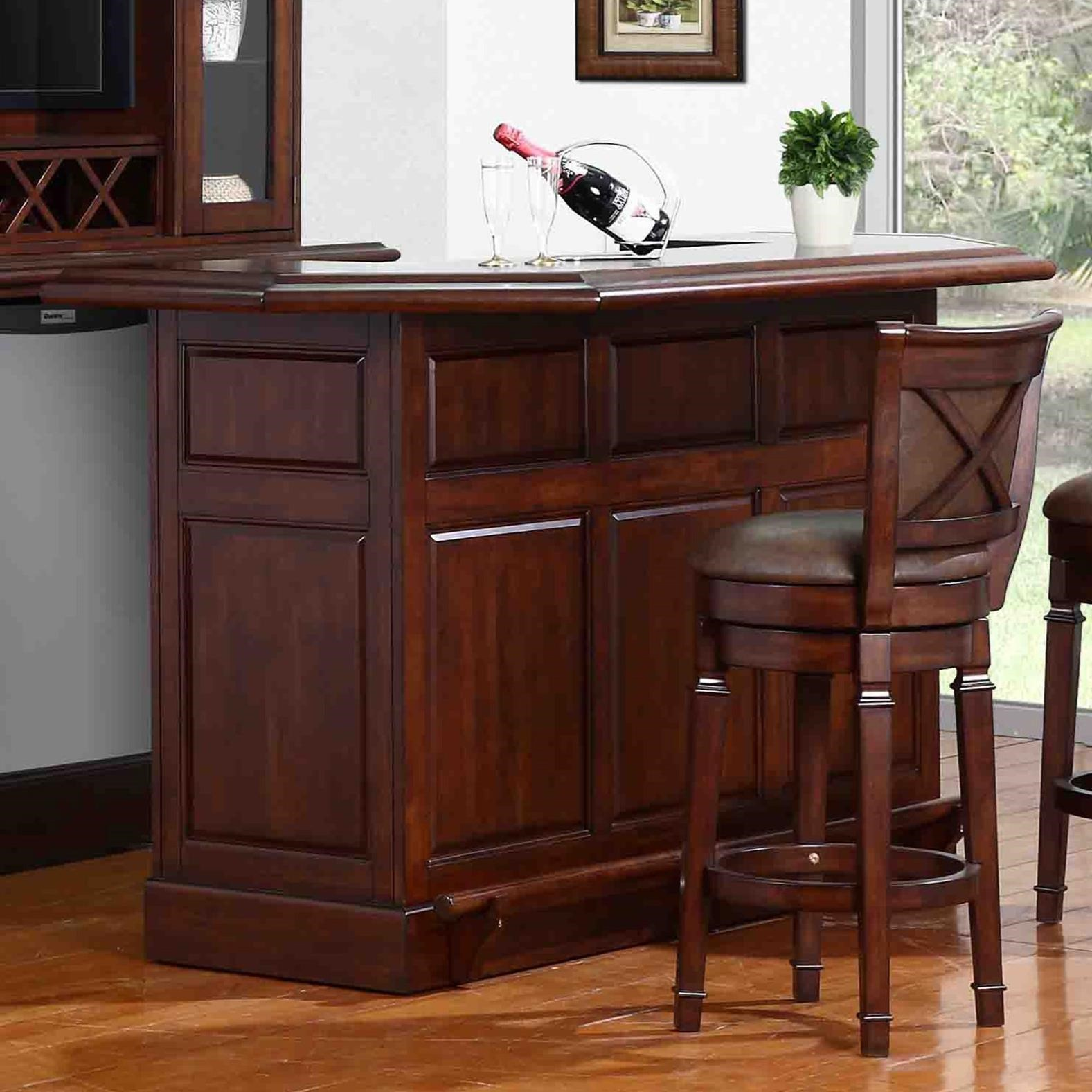 E C I Furniture Belvedere 0411 Bar With Built In Wine