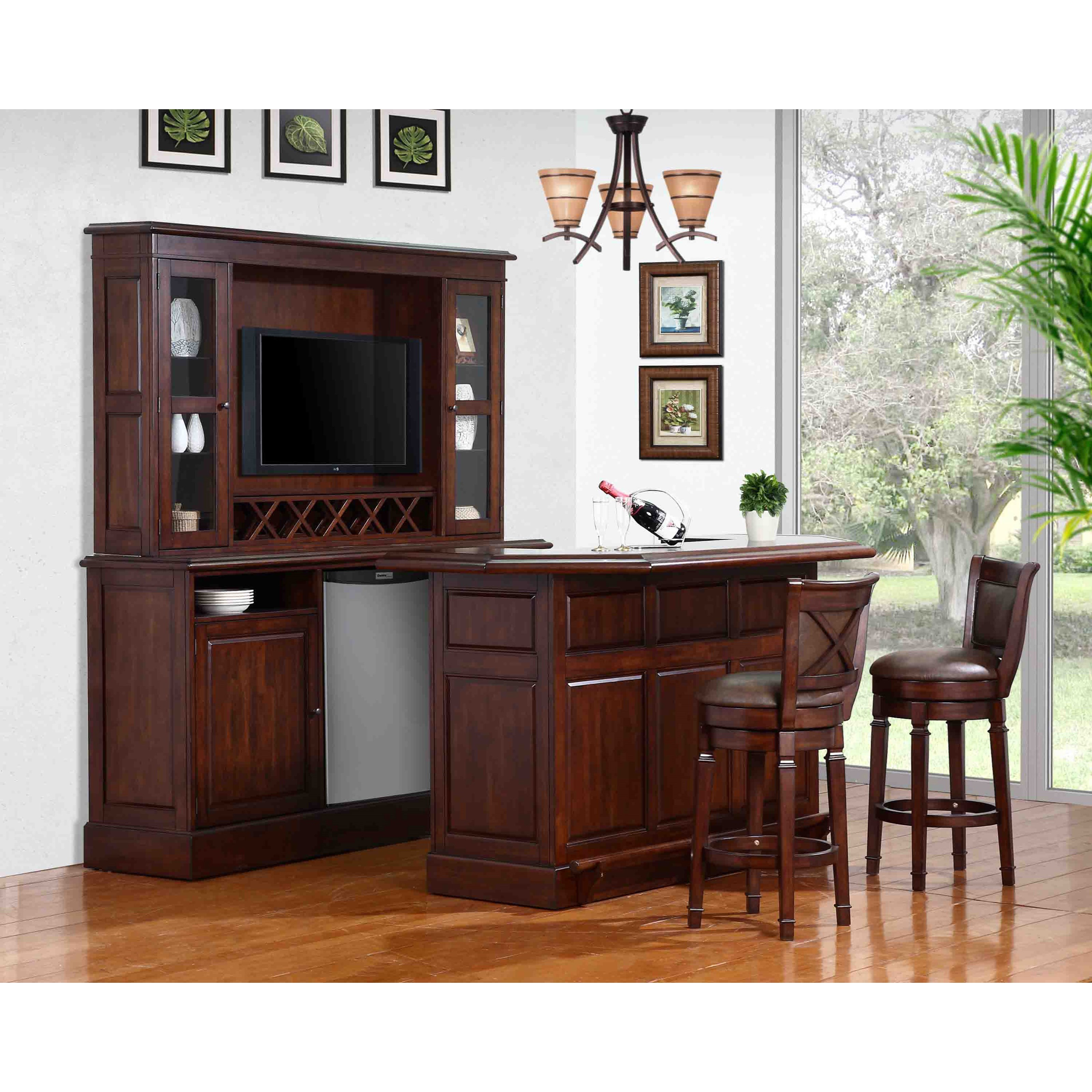 Discount Kitchen Cabinets Cleveland Ohio: E.C.I. Furniture Belvedere-0411 Bar With Built-In Wine