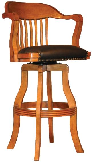 E.C.I. Furniture Champion 7045 Champion Swivel Barstool - Item Number: 7045-03-BS