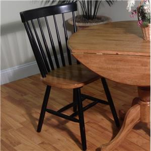 E.C.I. Furniture Dining  Caprail Side Chair