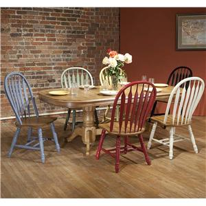 E.C.I. Furniture Dining  7 Piece Set