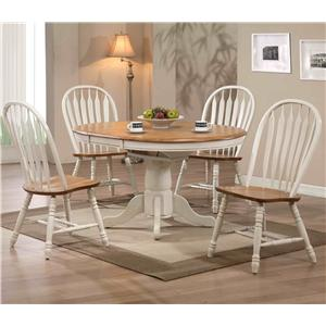 E.C.I. Furniture Dining  5 Piece Set