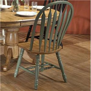 E.C.I. Furniture Dining  Green Side Chair