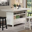 E.C.I. Furniture Dining  Dining Island - Item Number: 2222-20-I-T+B