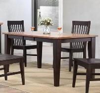 E.C.I. Furniture 0733 Black Leg Table