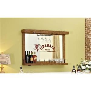 Wall Bar with Mirror