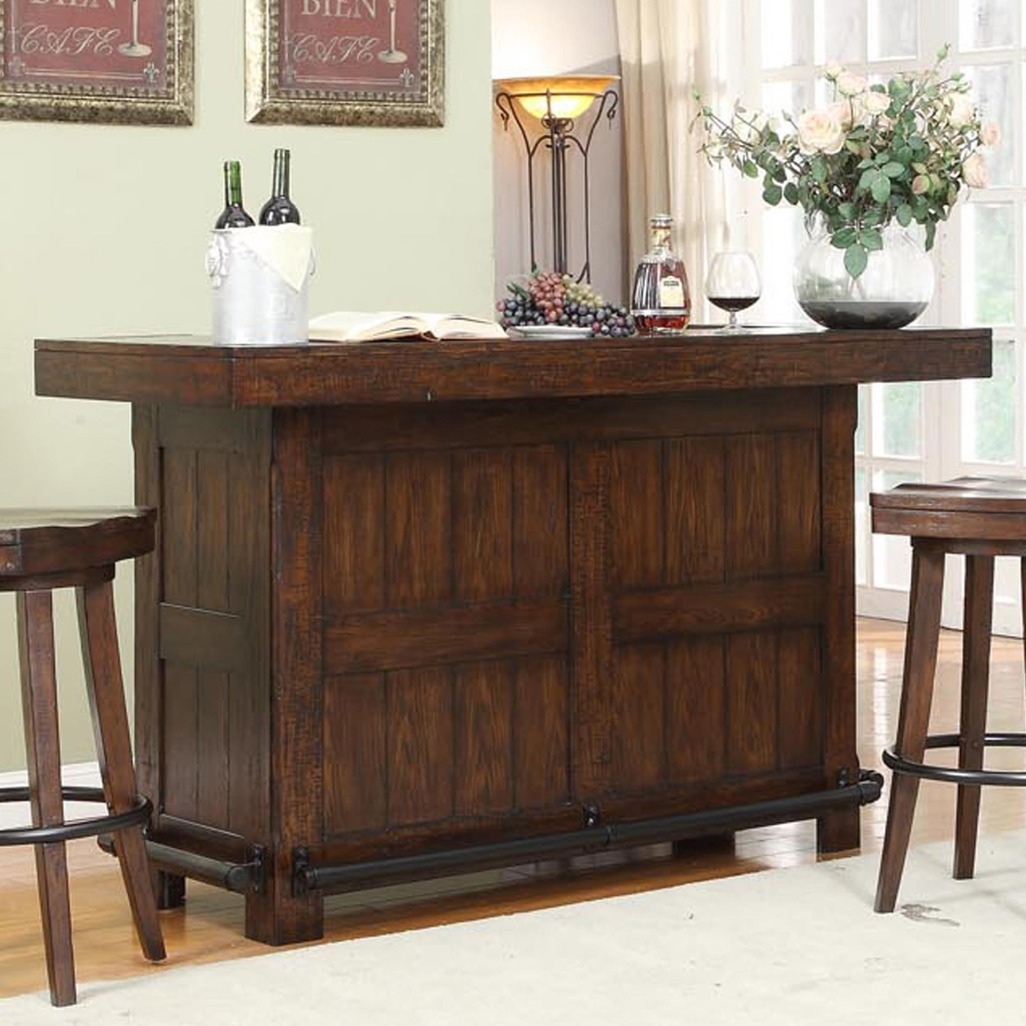 E C I Furniture Gettysburg 1475 05 B T Gettysburg Bar With Bottle Opener Becker Furniture