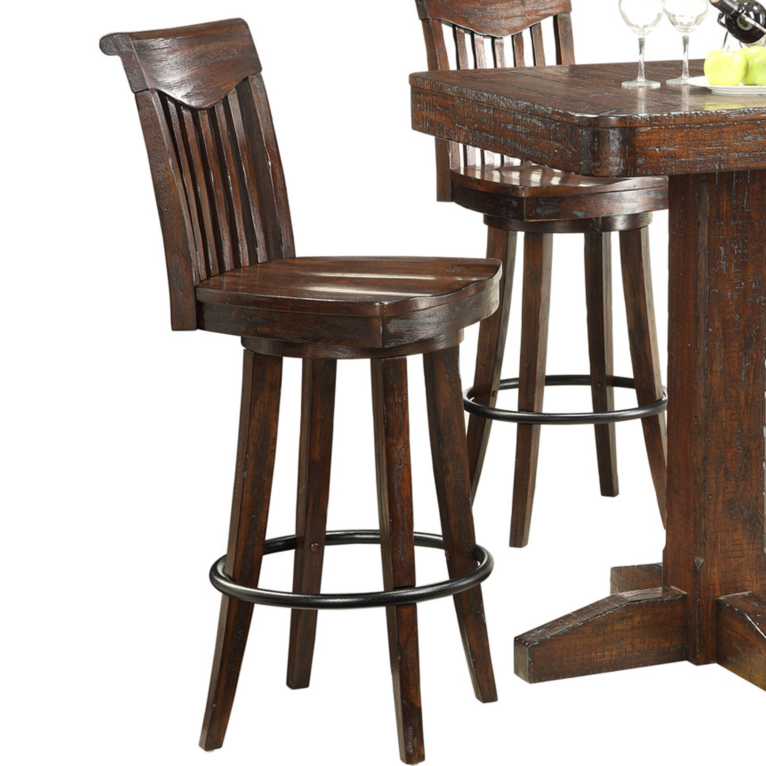 E C I Furniture Gettysburg 1475 05 Bs30 Bar Stools W Sculpted Seats Becker Furniture World