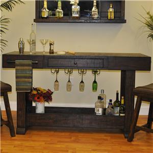 E.C.I. Furniture Gettysburg Island Bar