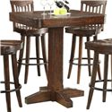 E.C.I. Furniture Gettysburg Bar Height Dining Table - Item Number: 1475-05-PT36