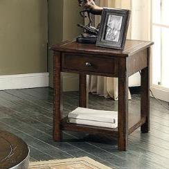 E.C.I. Furniture Gettysburg Rectangular End Table - Item Number: 1475-05-RECT