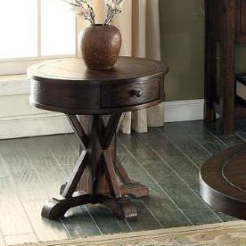 E.C.I. Furniture Gettysburg Round End Table