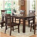 E.C.I. Furniture Gettysburg Dining Table - Item Number: 1475-05-T